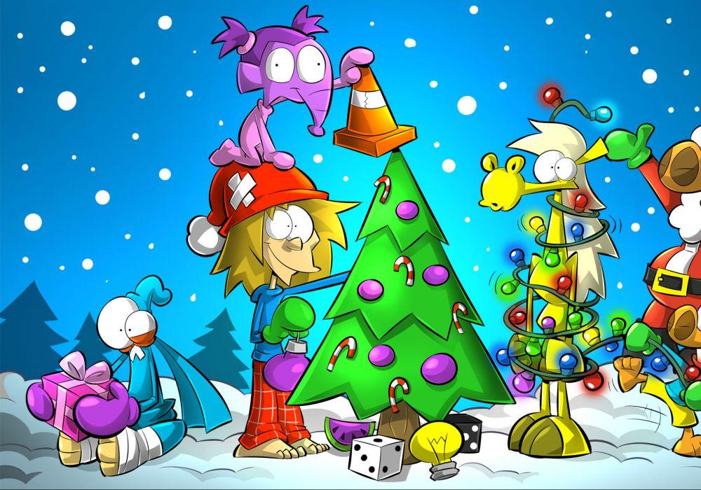 Noël avec la bande d'Alex A.