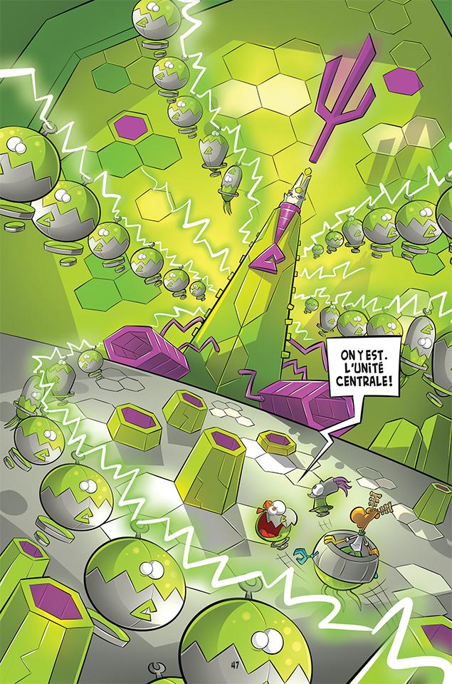 Page 47 du tome 2, saison 2, L'Agent Jean