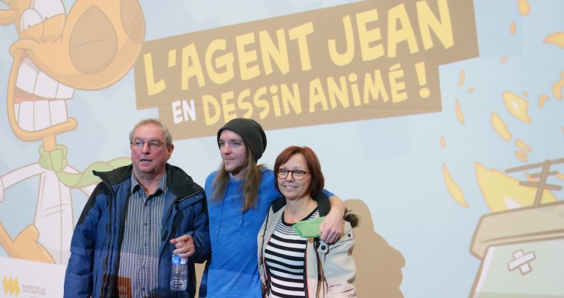La bande dessinée québécoise l'Agent Jean est devenue un dessin animé!